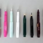 Buchbinderei-ZWANG-B-Kaweco-Schreibgeraete-Stift-Kugelschreiber-Fuellhalter-bunte-Patronen